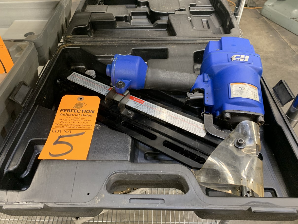 Lot 5 - CH NS289001 Clipping Head Pneumatic Framing Nailer (Located at: R & D Components)