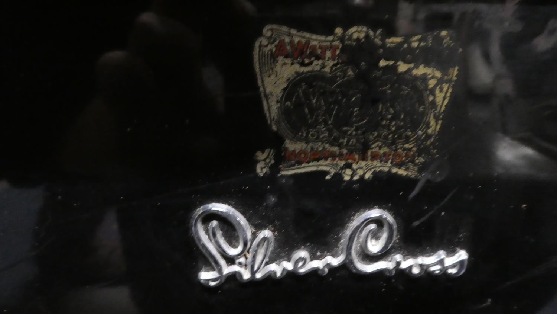Lot 297 - A Vintage Silver Cross Dolls Pram