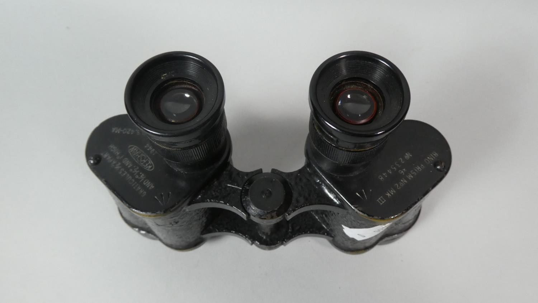 Lot 23 - A Pair of Kershaw No.2 III Binoculars with War Department Stamp
