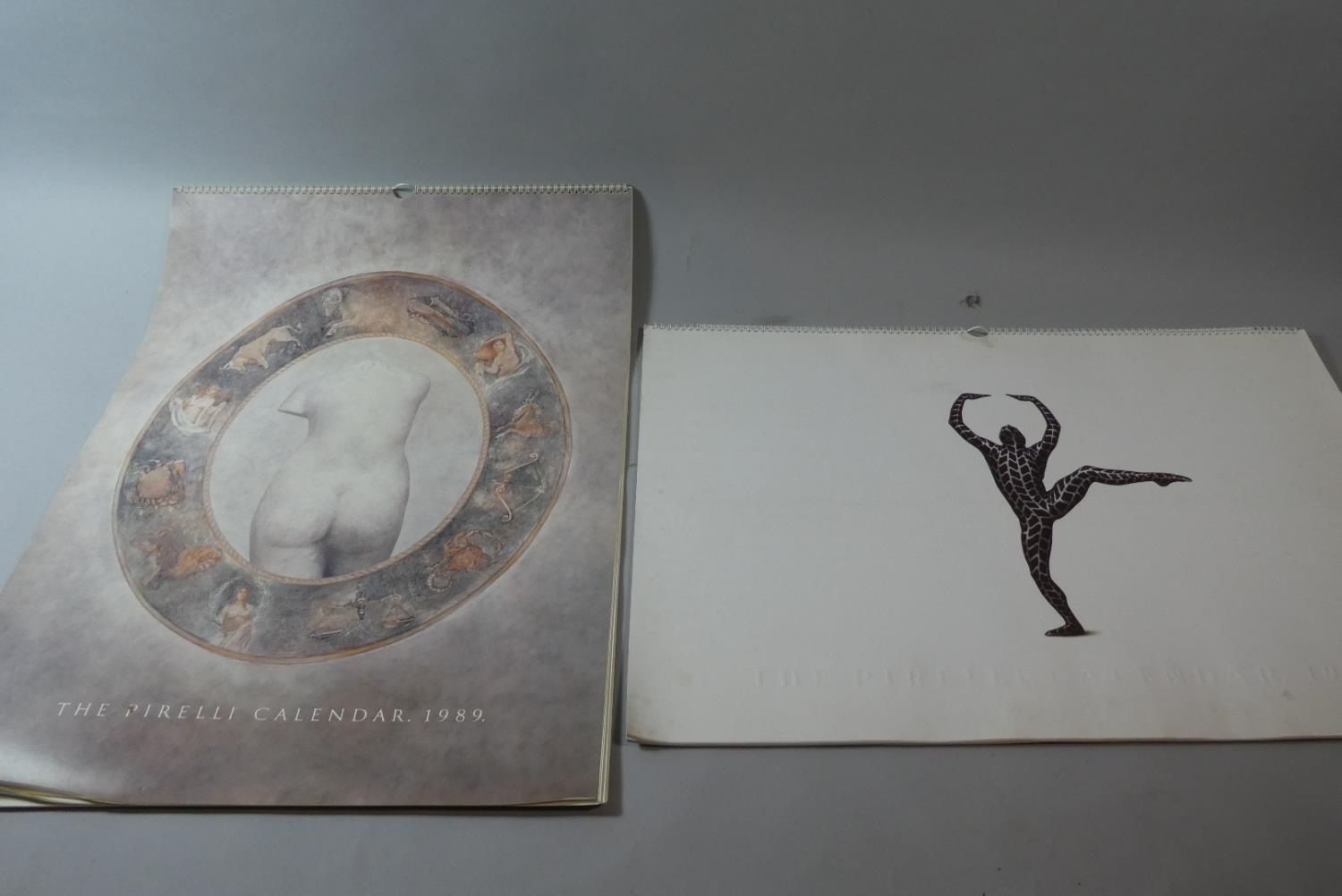 Lot 103 - Two Pirelli Calendars for 1988 and 1989