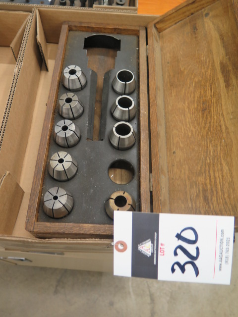 Lot 320 - Spindle Collets