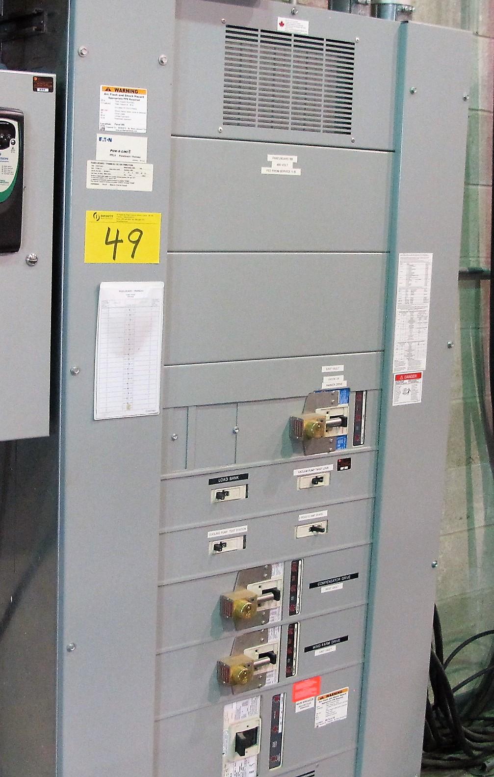 Lot 49 - 2012 EATON POWER LICE C PRL4 MCC