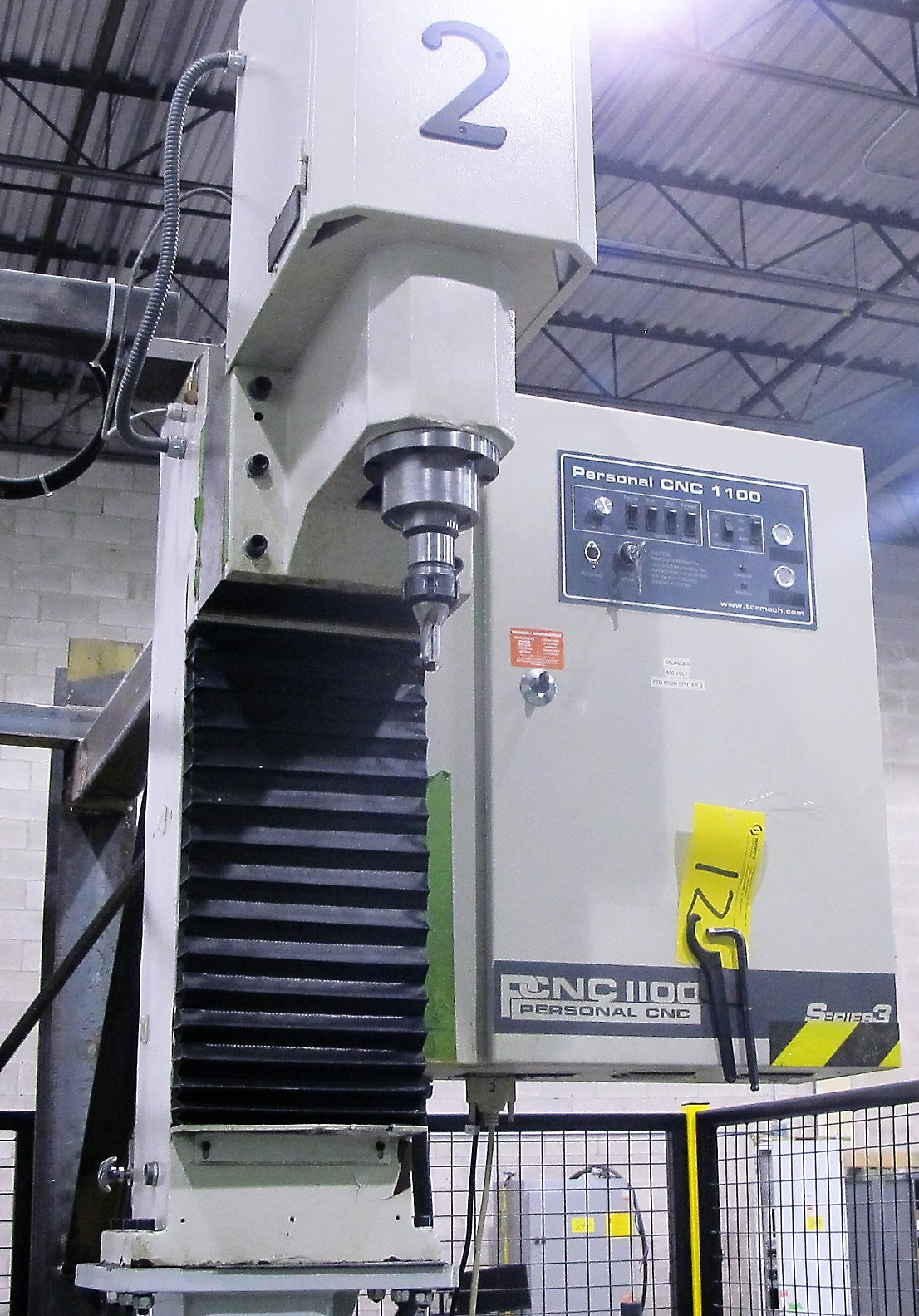 Lot 12 - TORMACH PERSONAL CNC 1100 NC SERIES 3 MILLING MACHINE W/DELL PC COMPUTER, S/N 2305 (SUBJECT TO