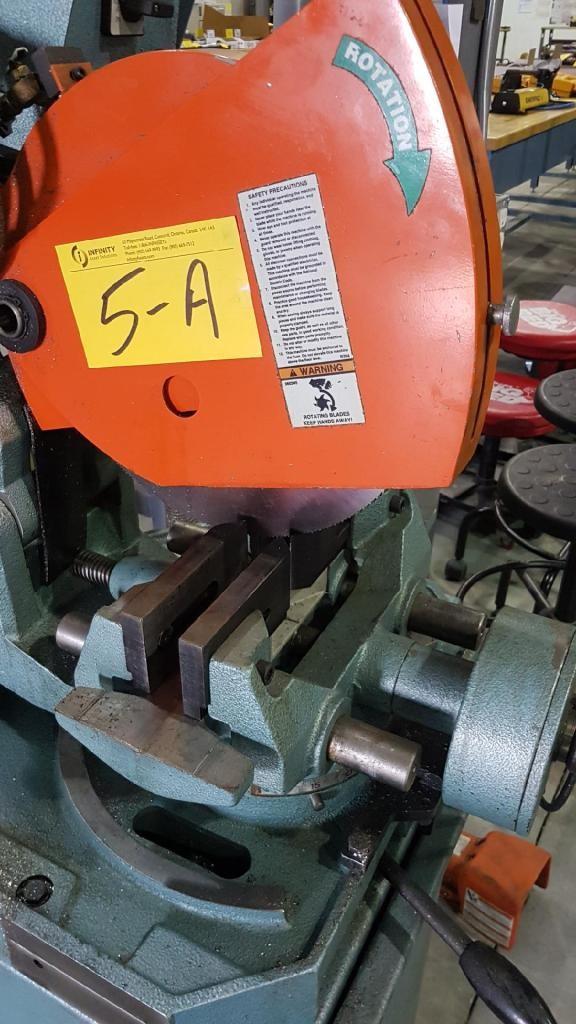 Lot 5a - 2011 BEWO 350LT/PF/PD COLD SAW, S/N B90410411