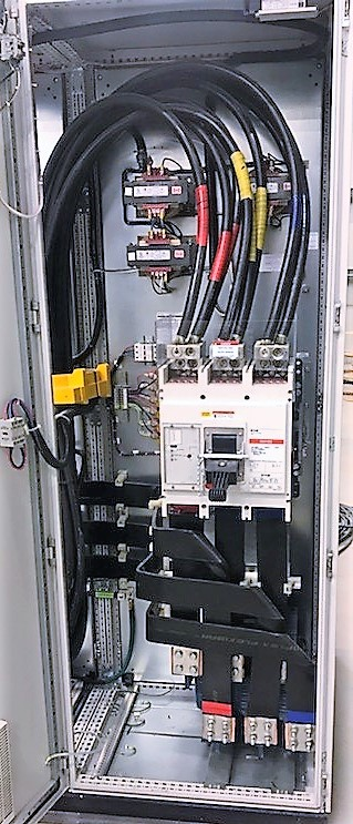 Lot 22 - (7) CONJOINED CABINETS W/ (1) EMERSON CTLR 0151 PHASE 1 CONTROLLER, MODEL ECOP12061-01, S/N 12061-