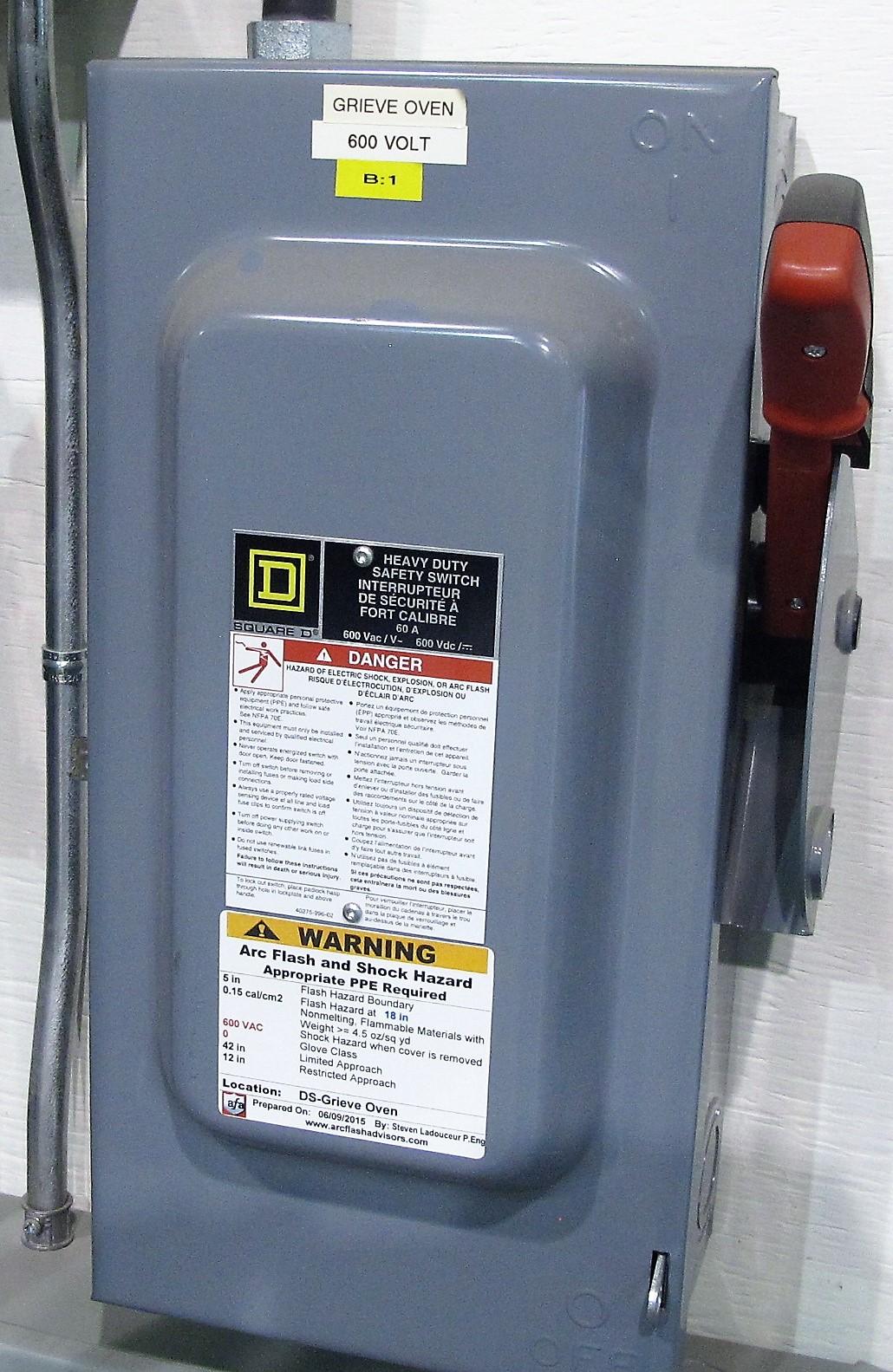 Lot 7 - GRIEVE TB-550, 575 VOLT ELECTRIC OVEN, 4'W X 5'T X 54'D, WATLOW EZ-ZONE CONTROL, S/N 104139A0911