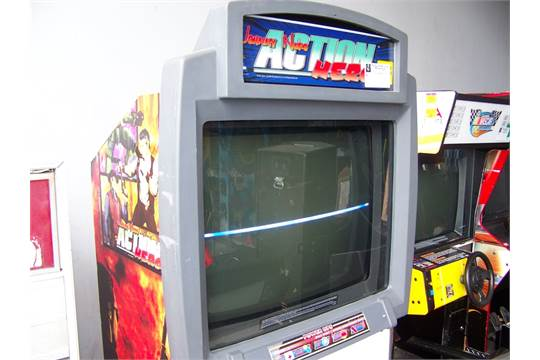 johnny nero action hero arcade