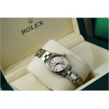 Rolex Oyster Perpetual (Ladies) - Gold and Steel w/ Champagne Colour Dial
