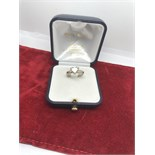18ct WHITE GOLD 1.50ct HEART SHAPED DIAMOND SOLITAIRE RING