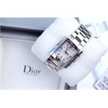 *RRP: $2,350.00* Dior Riva - Pink Sapphire Set Bezel - Complete Set