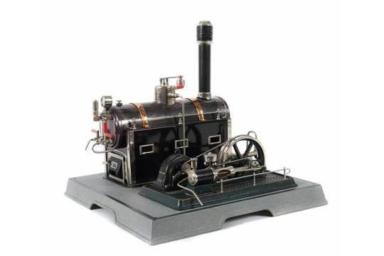 Dampfmaschine Märklin, 4098/92/8, Jubiläumsmodell, liegender ...
