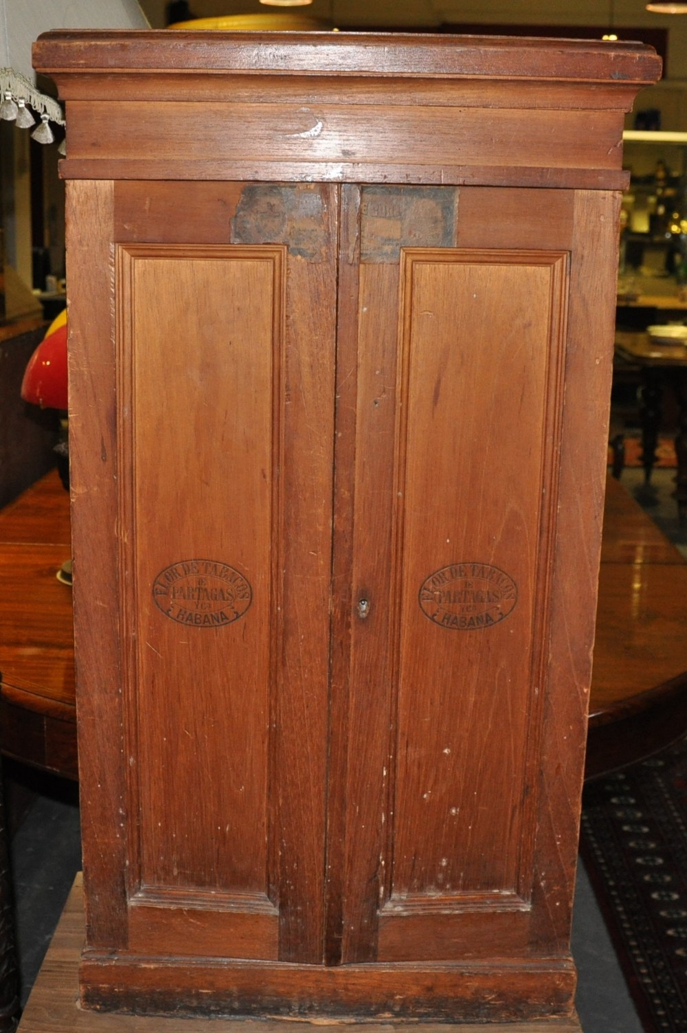 door cabinets kitchen an early 20th century cuban two door cigar cabinet with 15001