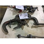 LOT OF CLAMPS (BIDDING IS PER CLAMP MULTIPLIED BY NUMBER OF CLAMPS)