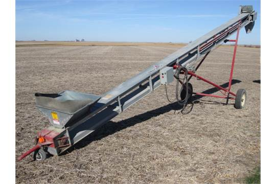 CARDINAL BC-10 SEED CONVEYOR, ELECTRIC MTR
