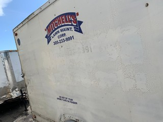 Lot 719 - 2009 SOUTHWEST SW-07X12 ENCLOSED TRAILER - VIN #1S907X1299M982094 - WHITE - SINGLE AXLE - 12' (6)