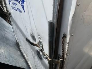 Lot 724 - 2015 CARGO CRAFT EV6121 ENCL TRAILER - VIN #4D6EB1215FA035706 - WHT - SGL AXLE - SIDE DOOR - 12'