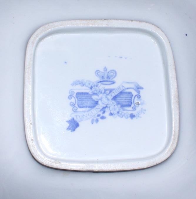 Lot 17 - A Masons early 19th century ironstone Imari pattern part dessert service, five plates and three