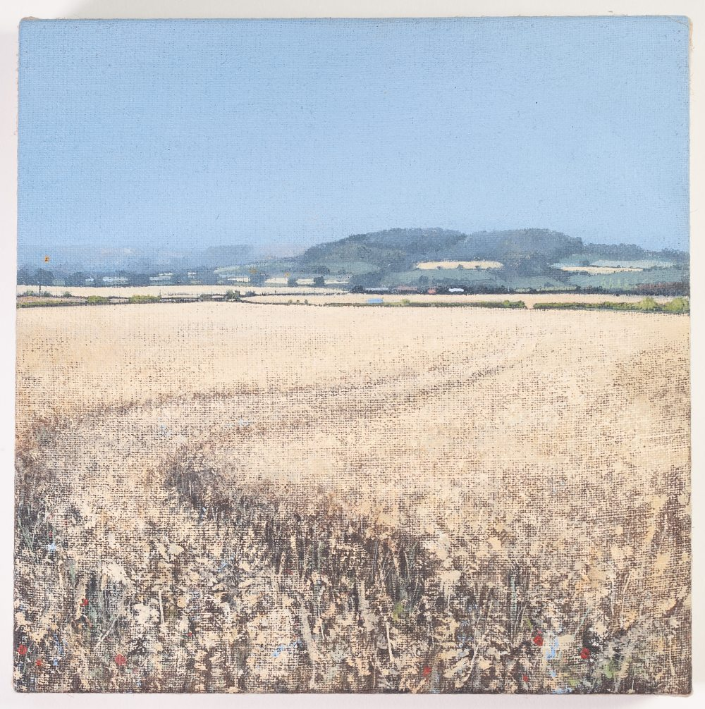 Lot 227 - J. P. ANDERSON ACRYLIC ON LINEN 'Hambleton Hills' Signed, inscribed and dated 2005 on stretcher