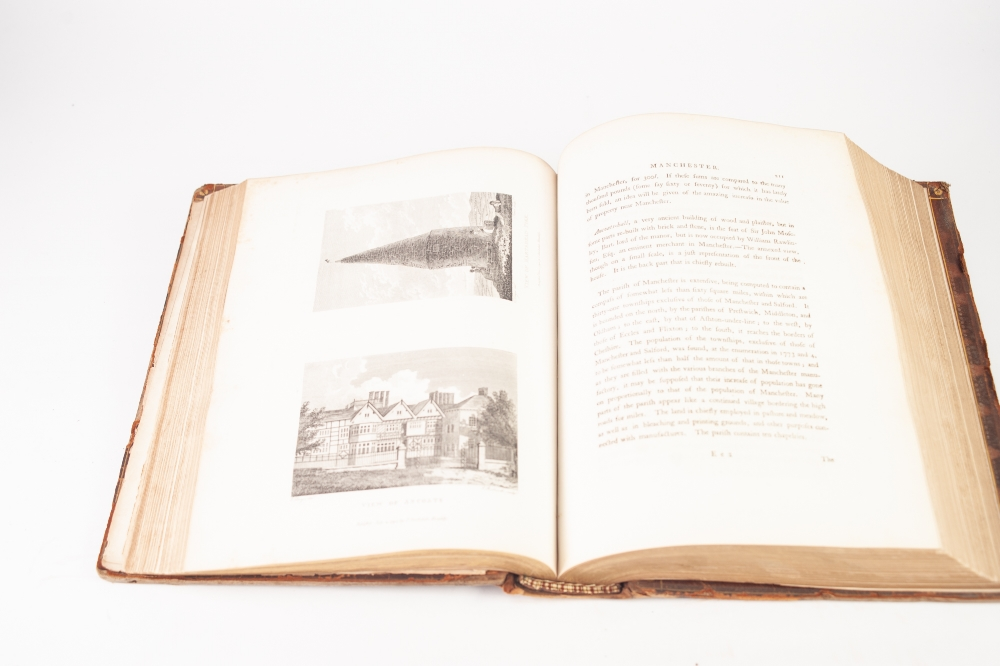 Lot 104 - J. AIKIN, A DESCRIPTION OF THE COUNTRY FROM THIRTY TO FORTY MILES ROUND MANCHESTER, PRINTED FOR JOHN