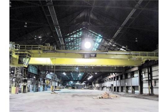 Overhead Crane Warning Horn : Virginia ton double girder dc bridge crane