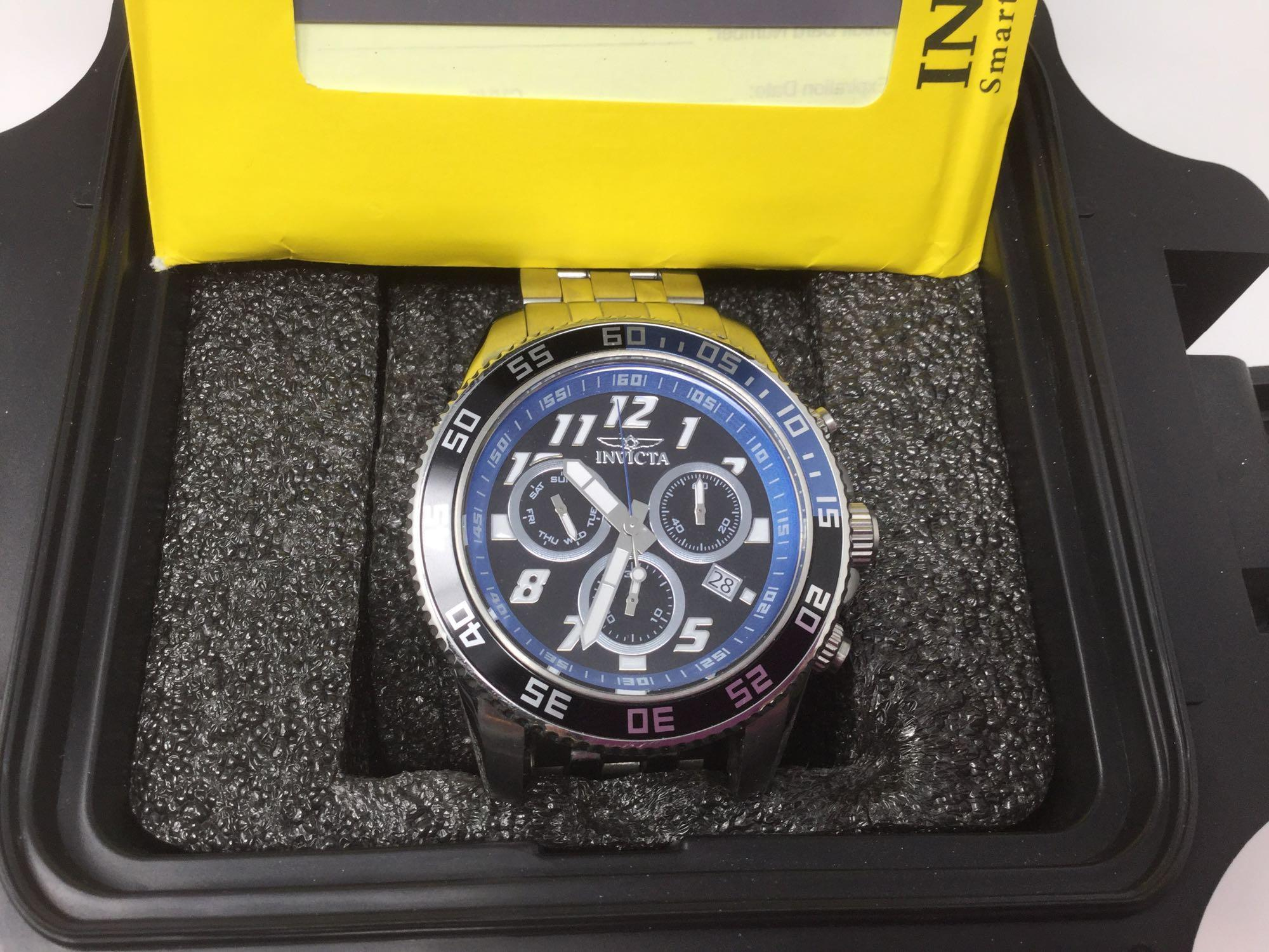 Lot 30 - Invicta Men's Wrist Watch