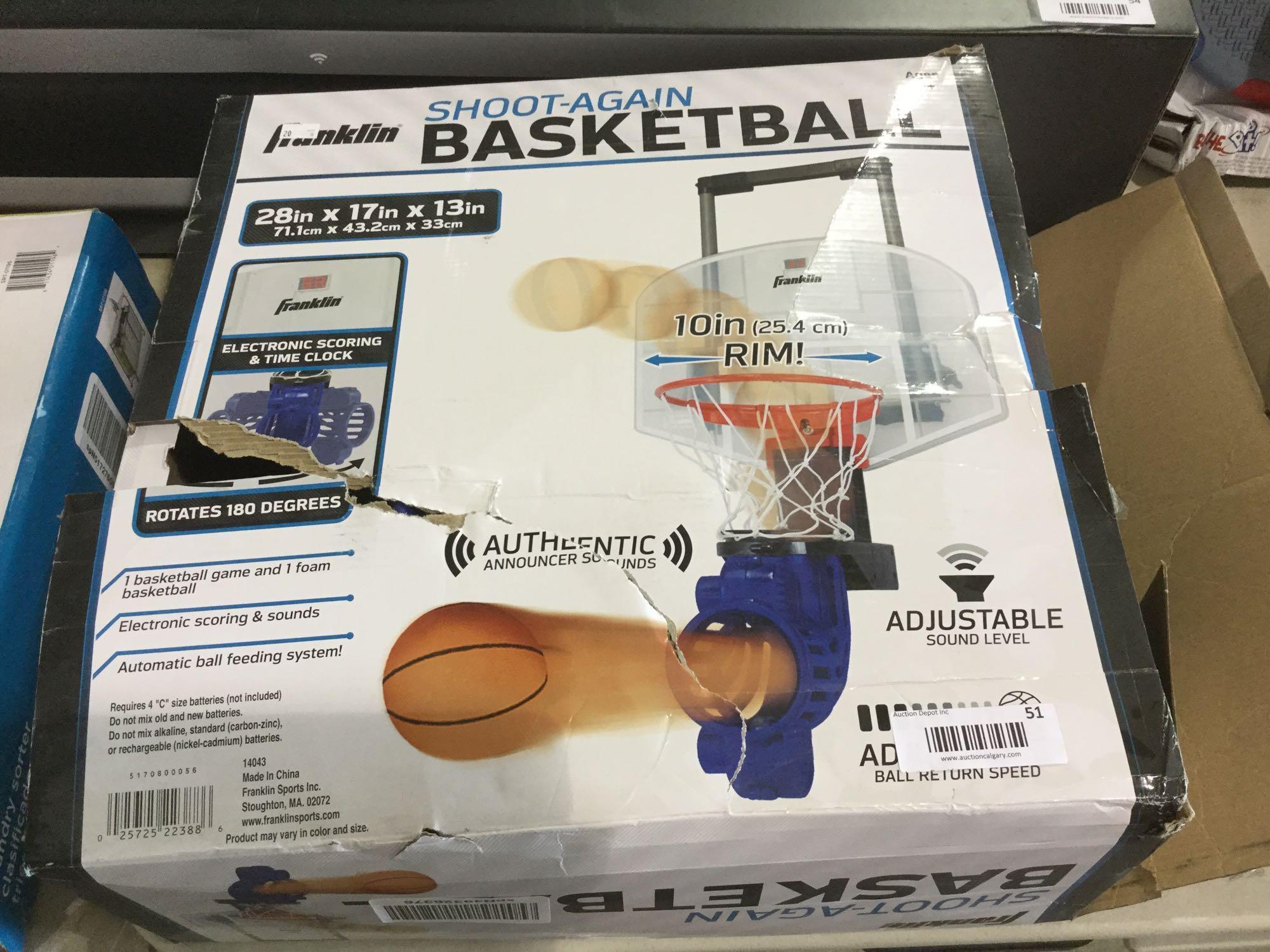 Lot 51 - Franklin Shoot-Again Basketball