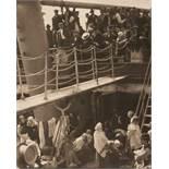 Alfred StieglitzThe SteeragePhotogravüre auf Japanpapier 1911. 19,8 x 15,8 cm (28,2 x 19,8 cm).