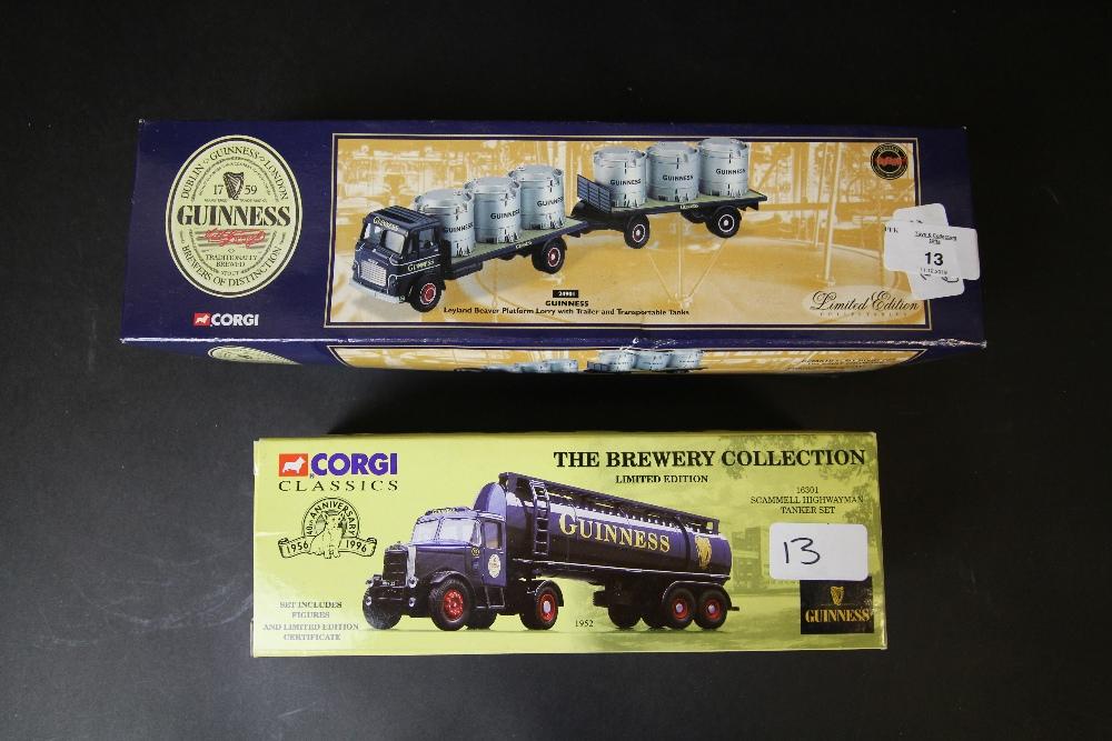 Corgi Guinness 24901 and 16301