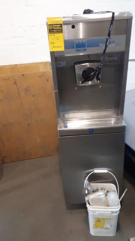 Lot 116 - TAYLOR Ice Cream Machine, c/w accessories