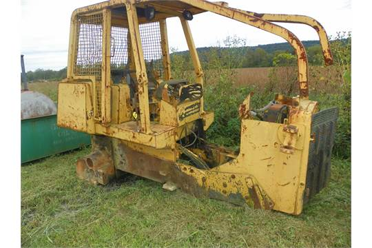 1989 John Deere 750 B Dozer, Parts Only
