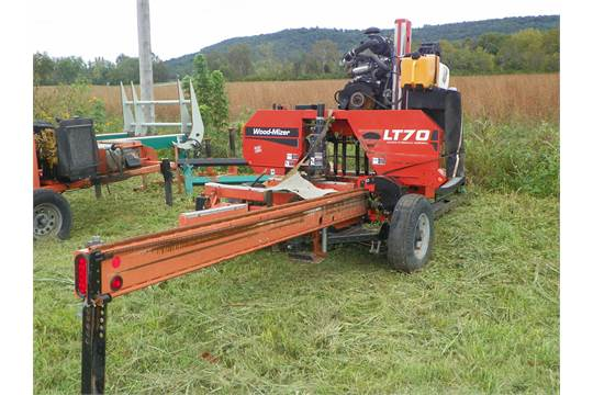 Woodmizer LT 70 Portable Band MillWorking unit