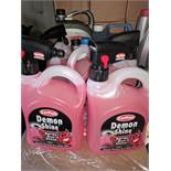 5pcs brand new Demon nd shine cleaning solution5pcs brand new Demon nd shine cleaning solution 2.