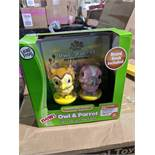 1pcs Leapfrog Owl and Parrot activity set with playbook   1pcs Leapfrog Owl and Parrot activity