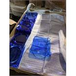 500pcs- Brand new Caterplate in Blue   500pcs- Brand new Caterplate in Blue - new and unused -