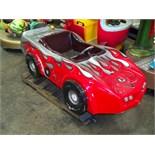 KIDDIE RIDE CORVETTE RED RACE CAR