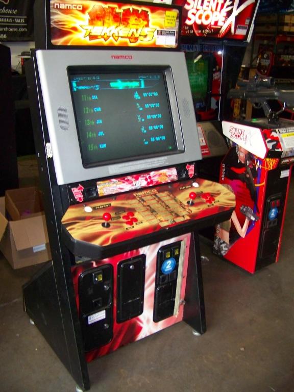 Lot 205 - TEKKEN 5 DEDICATED FIGHTER ARCADE GAME NAMCO