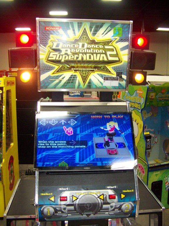 Lot 175 - DDR SUPER NOVA 2 DEDICATED KONAMI DANCE ARCADE