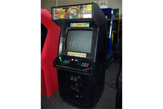 Street Fighter Alpha 3 Arcade Game Capcom Item Is In Used