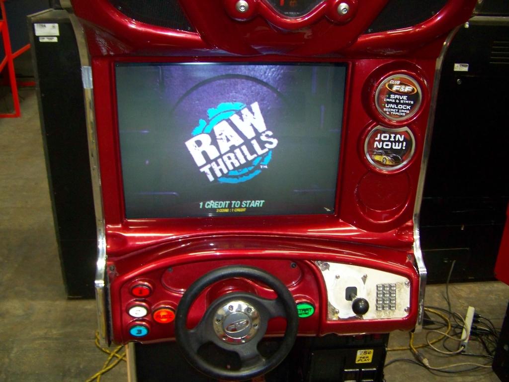 Lot 207 - DRIFT FAST & FURIOUS DEDICATED RACING ARCADE GAME