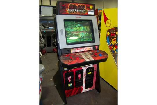 Tekken 5 Dark Resurrection Arcade Game Namco Item Is In Used