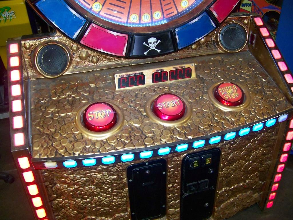 Lot 182 - PIRATES REVENGE TICKET REDEMPTION GAME 5 STAR