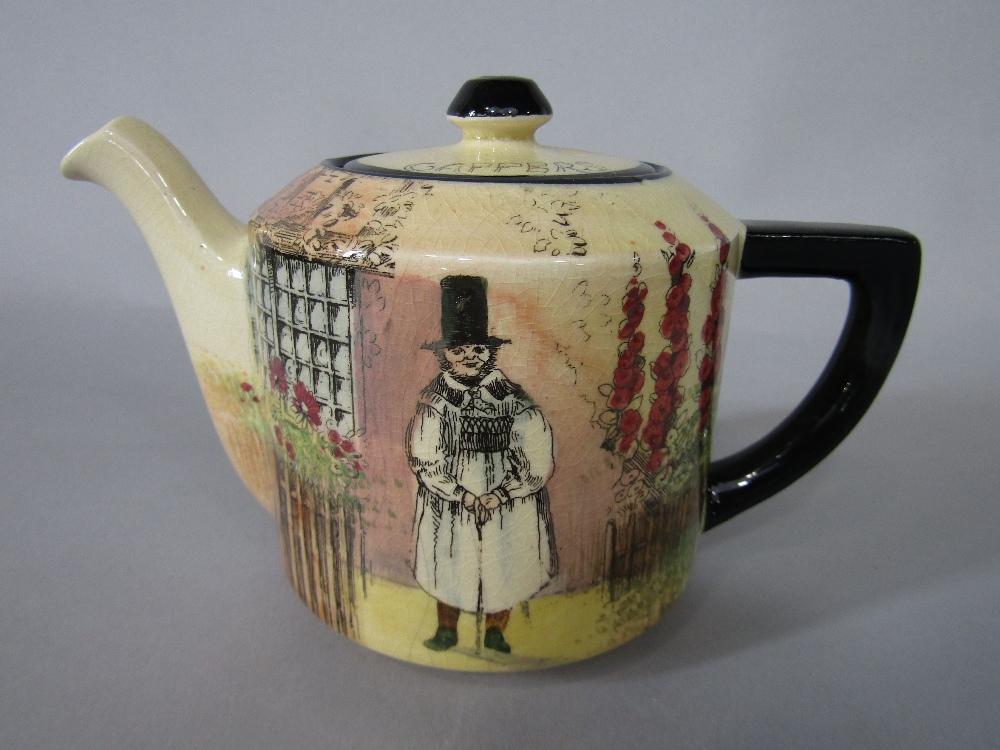 A collection of Royal Doulton Gaffers series ware teawares comprising teapot, milk jug, sugar - Image 2 of 2