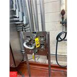 S/S Flowverter Stations, Clamp Type, With Jumpers Rigging Fee: $75