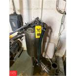 """Stainless Steel Filter 4"""" Inlet/Outlet Rigging Fee: $75"""