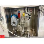 DCI 20,000 Gallon S/S Silo, With , Horizontal Agitation, 2 Air valves, Sensors, And Controls, S/N