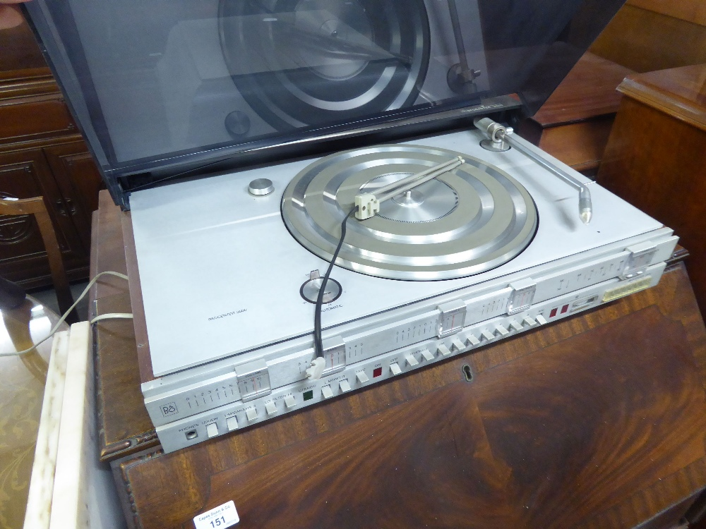 Lot 150 - BANG AND OLUFSON BEOCENTRE 3500 RECORD TURNTABLE