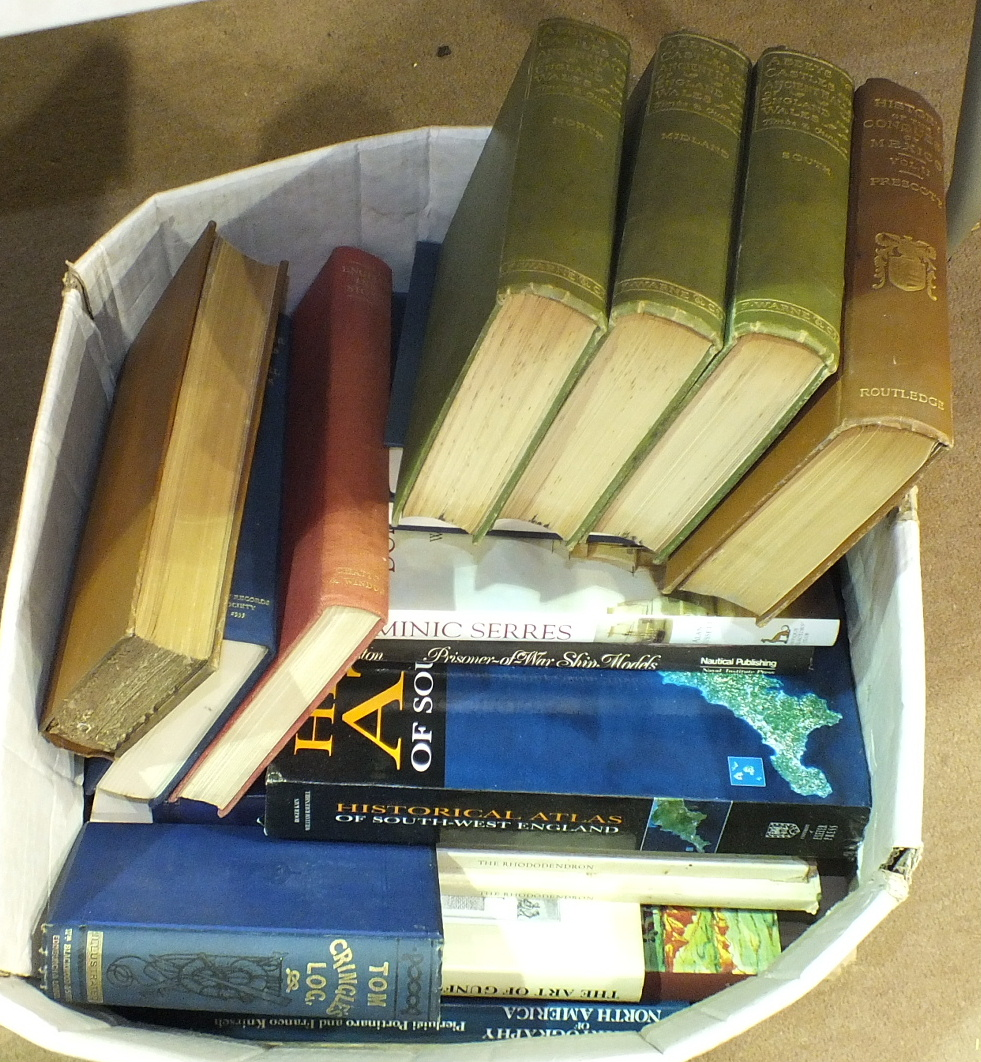 Lot 145 - A quantity of books on general subjects, the contents of two boxes.