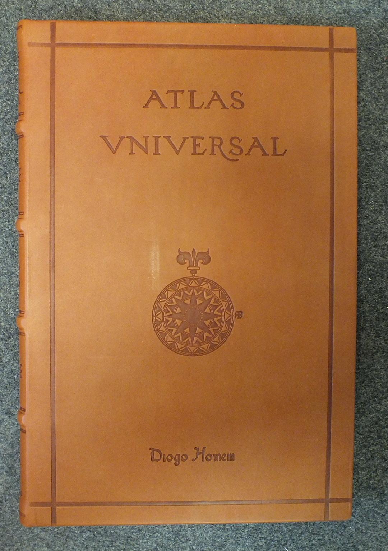 Lot 180 - Homen (Diogo), Atlas Universal, facsimile of a medieval manuscript, no.825/987, 19 d-p maps, col and