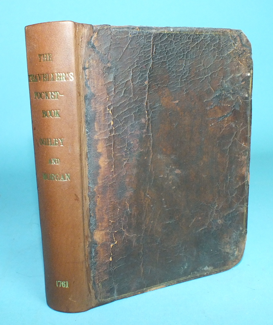 Lot 178 - Ogilby (John) and Morgan (William), The Traveller's Pocket-Book or Ogilby and Morgan's Book of the