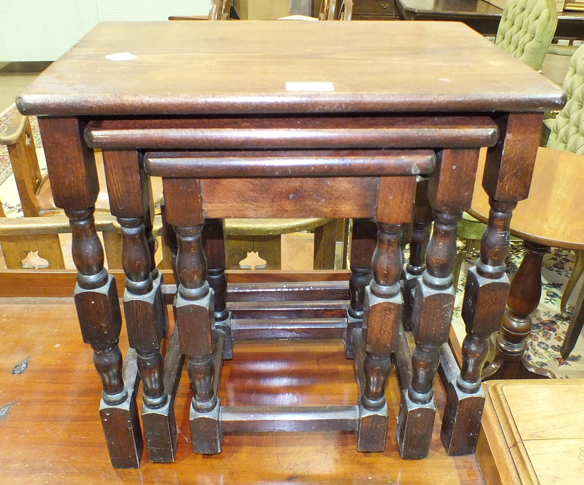 Lot 1 - A Late-Victorian mahogany circular-top table on turned column and tripod support, 49cm diameter